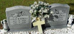 Leslie W. Rowell