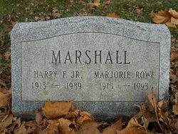 Marjorie <I>Rowe</I> Marshall
