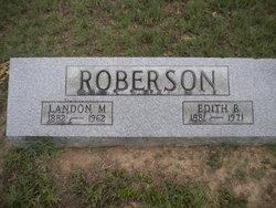 Edith B Roberson