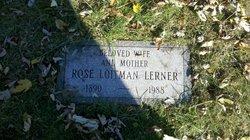 Rose <I>Loitman</I> Lerner