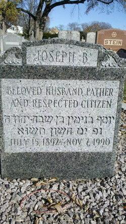 """Joseph Benjamin """"J.B."""" Grossman"""