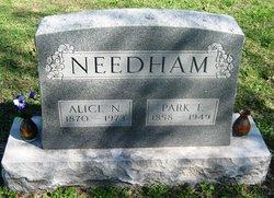 """Parkman F. """"Park"""" Needham"""