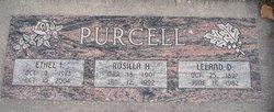 Rosilla Irene <I>Hays</I> Purcell