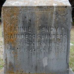 Henry P Saunders