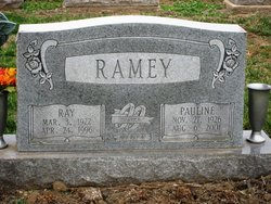 Pauline <I>Willoughby</I> Ramey