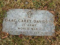 Isaac Carey Davidson