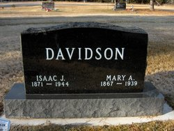 Mary Alvina <I>Olds</I> Davidson