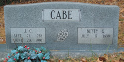 J C Cabe