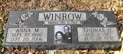 Anna M Winrow