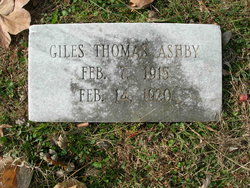 Giles Thomas Ashby