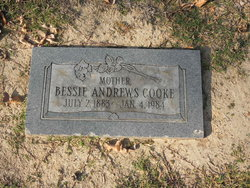 Bessie <I>Andrews</I> Cooke