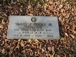 Sidney F Cooke, Jr
