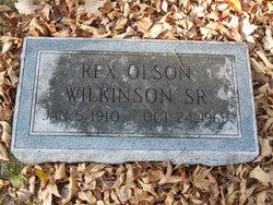 Rex Olsen Wilkinson, Sr