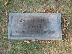 Walter Steel Wyatt