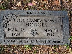 Helen Juanita <I>Lodge</I> Weaver Hodges