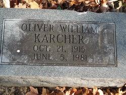 Oliver William Karcher