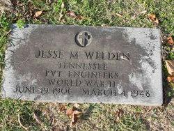 Jesse M Welden