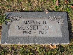 Marvin Hines Mussett, Jr