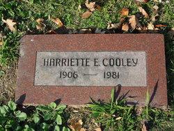 Harriette Elizabeth Cooley