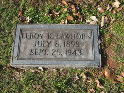 Leroy Kellerman Lawhorn, Sr