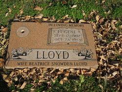 Eugene Lloyd