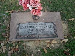 Jearldine <I>Nunn</I> James