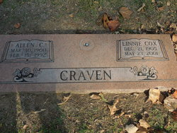 Linnie <I>Cox</I> Craven