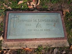 Stephen M Lowdermilk, Jr