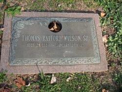 Thomas Raiford Wilson, Sr