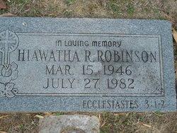 Hiawatha R Robinson