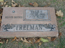 Fred F Freeman