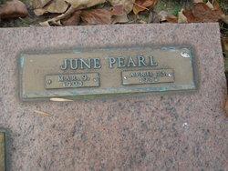 June Pearl Pinson