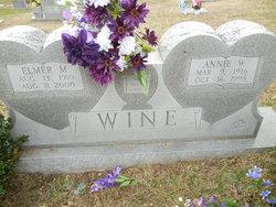 Annie <I>Wigfield</I> Wine