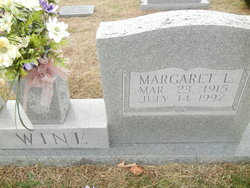 Margaret <I>Wigfield</I> Wine