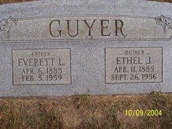 Ethel J <I>Gurley</I> Guyer