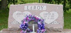Edith M. <I>Crowl</I> LeRoy