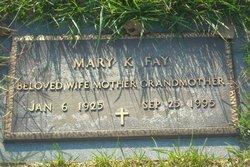 Mary K Fay