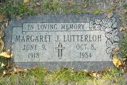 Margaret J Lutterloh