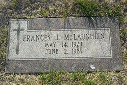 Frances J McLaughlin