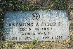 Raymond A Syslo, Sr