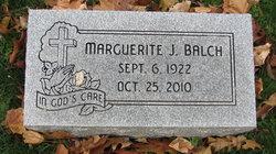 Marguerite J. Balch