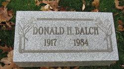 Donald H. Balch