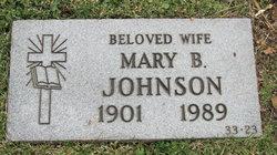 Mary B. Johnson
