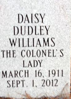 Daisy <I>Dudley</I> Williams