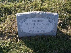 Grover F Adams