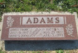 Hattie V. Adams