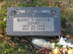 Blonie V. <I>Hoover</I> Adams