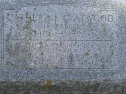 Lt/Cmdr Catherine C. <I>Colburn</I> Atwood