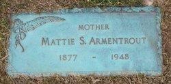 Mattie Susan <I>Huffman</I> Armentrout