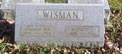 Bernice Lillie <I>Williams</I> Wisman